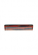 Vega Handmade De-Tangling Comb. All wide spaced toothed de-tangling comb with 1 row.