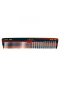 Vega Handmade Graduated Dressing Comb. Half coarse and half fine toothed Small Comb.