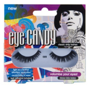 Eye Candy Strip Lashes 005 Volumise 60's Look Natural False Lashes by Invogue Ltd