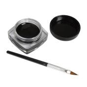 Tonsee® 1x Eyeliner Gel Cream With Brush Makeup Black Waterproof Eye Liner