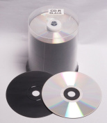100 MPO Hi Space CD Carbon Silver, CD-R 700 MB Spindle