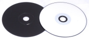 A Space CD Carbon Black, CD-R 700MB Inkjet Printable Spindle Pack 100 MPO