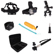 9 in 1 Accessories for Gopro Hero 1 2 3 3+ 4