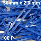 100 Cable Tie 150 x 2.6 mm type RILSAN/Colson