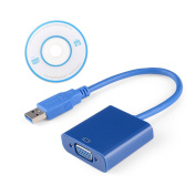 Parblo USB 3.0 to VGA Adapter for Win 7 Win8