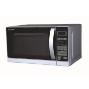 Sharp R60A0S Microwave Oven and Grill Silver