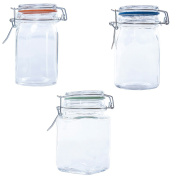 Kates Kitchen Glass Spice Jar 250ml Assorted