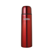 Thermos Stainless Steel Slimline Vacuum Flask 1.0 Ltr Red