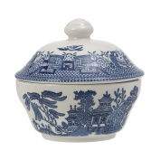 Churchill Blue Willow Covered Sugar Bowl - lid not included