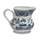 Churchill Blue Willow Creamer/Milk Jug