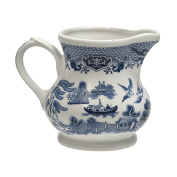 Churchill Blue Willow Creamer/Milk Jug