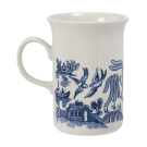 Churchill Blue Willow Sheraton Mug