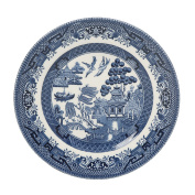 Churchill Blue Willow Side Plate 17cm