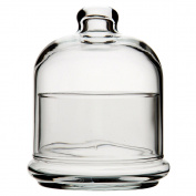 Pasabahce Glass Butter Dome with Lid