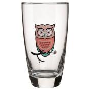 Hi Ball Owl Tumbler Pink 465ml