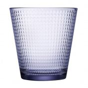 Pasabahce Generation Old Fashion Tumblers Purple 6 Pack 250ml