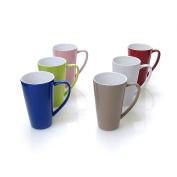 Jumbo Coffee Mug Asst Colours 800ml