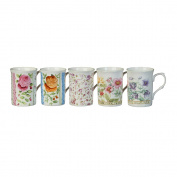 Rose of England Series 2 Bone China Coffee Mug 330ml Assorted Designs
