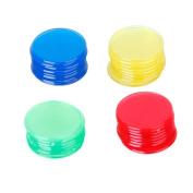 WINOMO Plastic Bingo Chips Markers 4 Colours 400pcs
