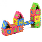 Baby Colourful EVA Foam Alphabet Letters Numbers Mat Jigsaw Puzzle Meawmeaw Store