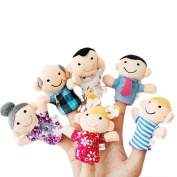 Pinkyee The Fairy Tale Finger Puppets Family Set 6PCS
