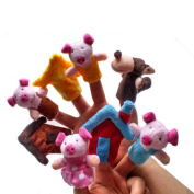 Pinkyee The Fairy Tale Finger Puppets for The Three Little Pigs
