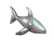 Inflatable Shark 60cm Inflatable Accessory for Animal Pool Jaws Fancy Dress Inflatable