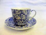 Jumbo Cup and Saucer made for Heron Cross Pottery.