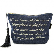 Denim Make-up Bag Mother & Daughter