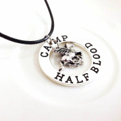 Percy Jackson camp half blood wiki with fly horse pendant necklace