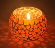 HND00653 Lalhaveli Ethnic Designer Yankee Tea Light Candle Holder Votive