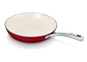 Beka 28 cm Arome Cast Iron Frying Pan, Red