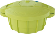 MEYER compact microwave oven pressure cooker 1.6L New Green MPC-1.6NG [Makino Naoko supervision