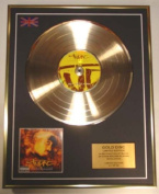 TUPAC/LIMITED EDITION/CD GOLD DISC/ALBUM 'RESURRECTION'/
