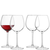 LSA International 400 ml Red Wine Glass, Clear