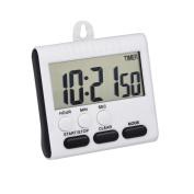 Mudder Magnetic Alarm Digital Kitchen Timer 24 Hours Clock Timer with Stand, Big Screen