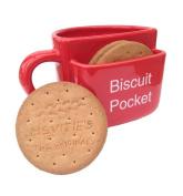 Biscuit Pocket Mug LARGE Red