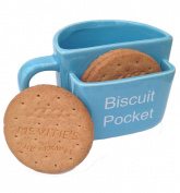 Biscuit Pocket Mug LARGE Blue