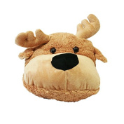 Lilalu 2X-Large Plush Moose Slipper