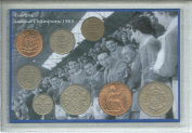 Everton FC (The Toffees) Vintage Football League Championship Champions Winners Retro Coin Present Display Gift Set 1963