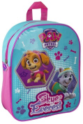 PAW PATROL JUNIOR GIRLS CARTOONS KIDS BACKPACK BAG HANDLE SCHOOL RUCKSACK JUNIOR