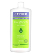 Cattier Shower Gel Lime Extract Orange Blossom 1L
