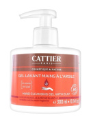 Cattier Hand Cleansing Gel with Clay Mirabelle & White Peach Fragrance 300ml