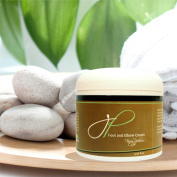 Fancy Pedicure Foot and Elbow Cream for Healthy Skin - Daily Moisturiser Made With Natural Ingredients - Instant Relief for Dry Cracked Heels, Soles, Callouses and Cuticles