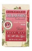 Dr. Jacobs Naturals Castile Bar Soap - Rose - 190ml