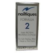 Lot of 3 Nailtiques Formula 2 Nail Protein 30ml