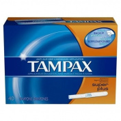 Flushable Cardboard Applicator Super Plus by Tampax
