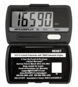 ACCUSPLIT AX2720STEP (AX2710) Accelerometer Pedometer by ACCUSPLIT