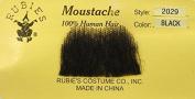 Rubies Chaplin BLACK - no. 2029 - REALISTIC! 100% Human Hair