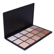 FiveBull 15 Colours Cosmetic Foundation Blending Makeup Contour Face Camouflage Concealer Powder Palette Face Contouring Kit